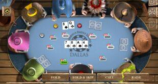 Texas Hold Em poker game